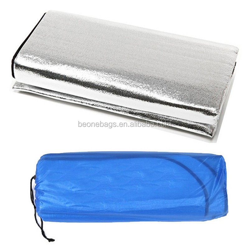 Outdoors Sleep Mattress Mat Pad Waterproof Aluminium Foil Camping Mat