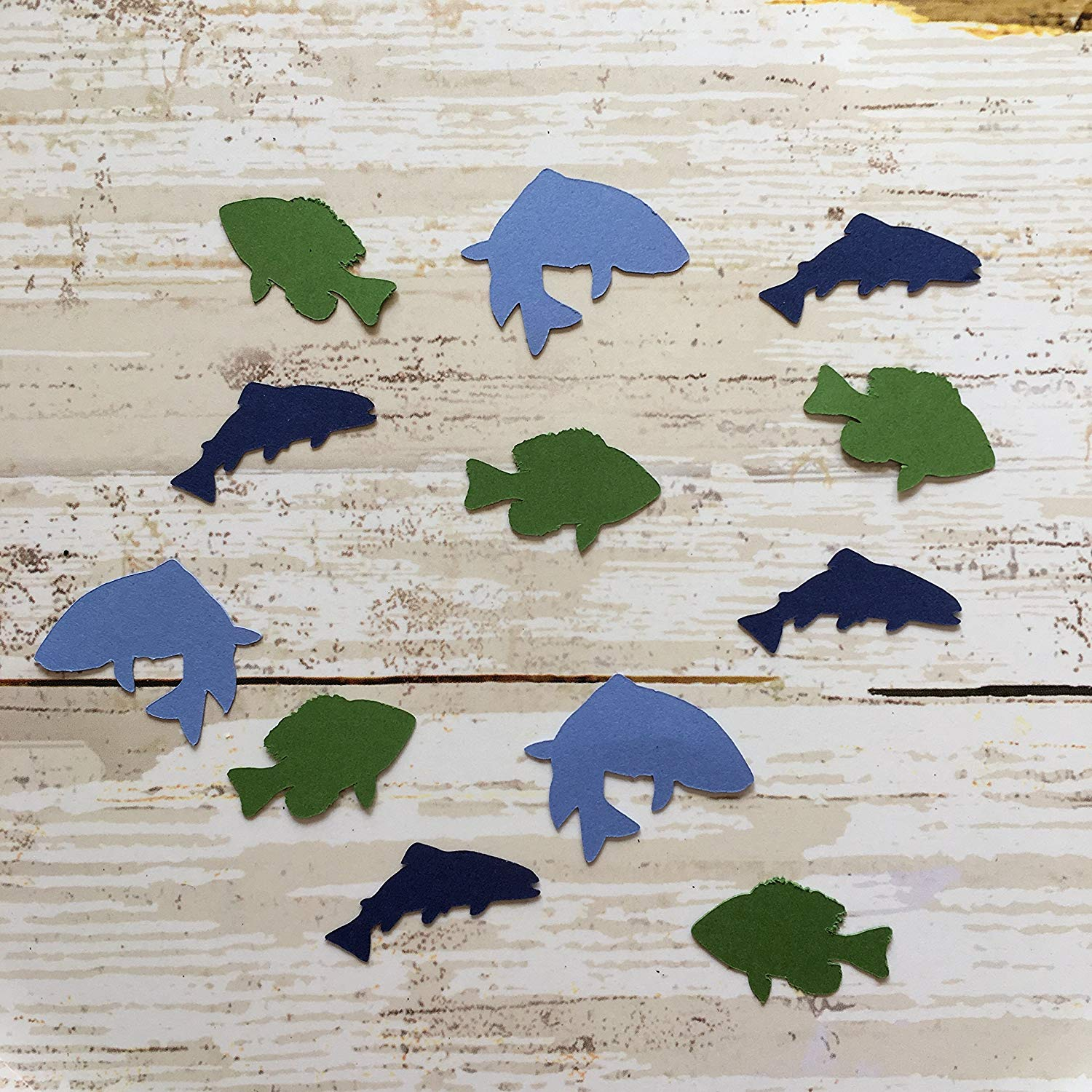 Fisherman Theme Fishing Party Supplies Fish Decorations Fishing Pole Confetti Rustic Theme Pole Cut Out Table Scatter Fishing Rod Fishing Theme