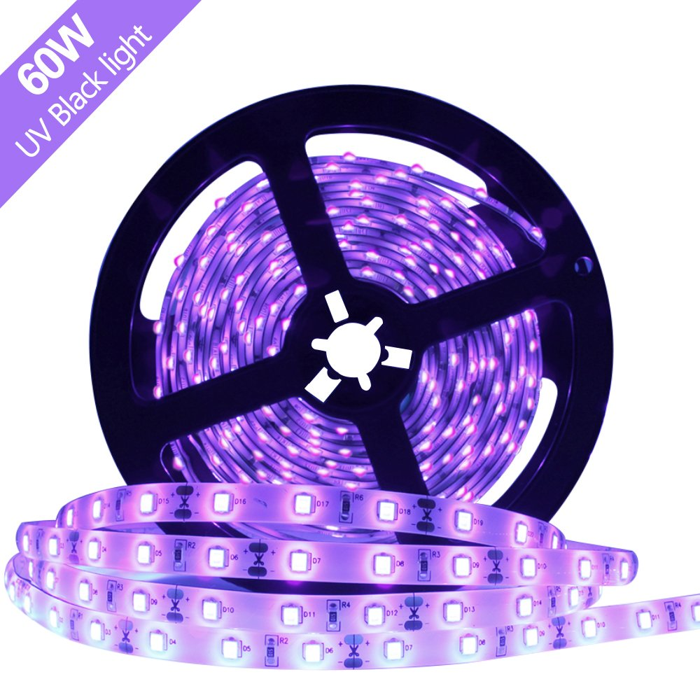 Cheap 405nm Led Find Deals On Line At Alibabacom Driver Circuitconstant Current 300ma 12v View Get Quotations Super Bright 60 Watts Uv Black Light Strip 164ft 5m 3528 300leds