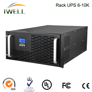 19 Inch 2U 3K 6Kva Rack-mounted UPS Protection True Online UPS With Battery Bank