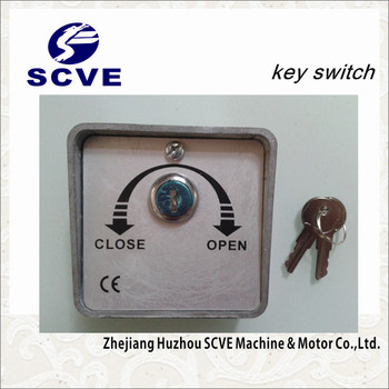 Automatic Key Switch For Roling Shutter Door And Garage Door Opener