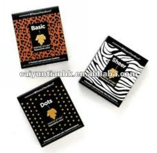 Difference choice & high quality plastic foil zipper packaging bag for condoms packaging