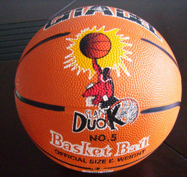 Inflation Valve Basket Ball Promotion Custom Basketball In