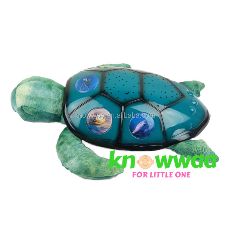 Baby Musical Constellation Light Night Sea Turtle Sky Projector