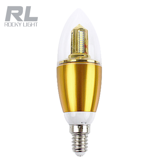 High quality SMD 110V 220V 3W 5W 7W Dimmable led candle bulb