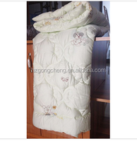 100% modal children quilt with lovely butterfly quilting pattern design