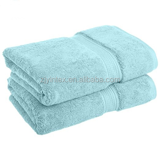 classic thirsty blue cotton bathroom face towel set