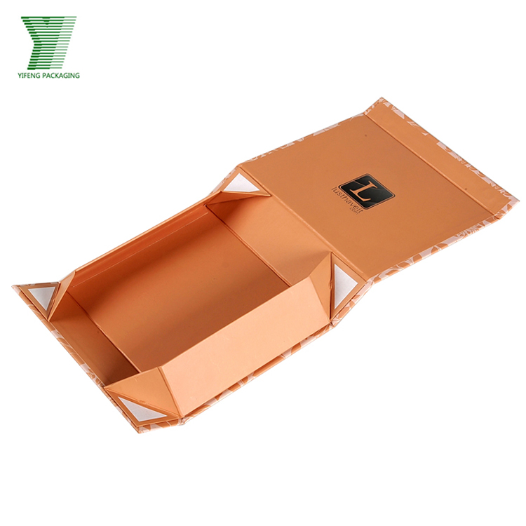 Custom Offset CMYK Printing Magnetic Closure Collapsible Paper Packaging Cardboard Folding Gift Box In Matt Lamination