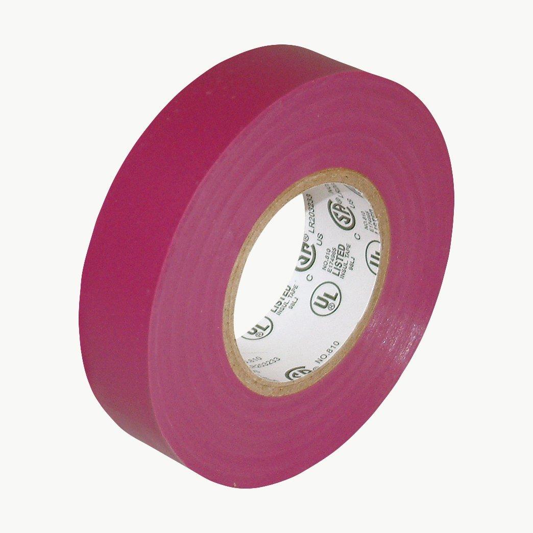 """J.V. Converting E-TAPE/PUR07522 JVCC E-Tape Colored Electrical Tape: 3/4"""" x 66 ft, Purple"""