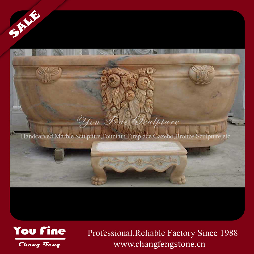 Hot Sale Home Used Marble Cheap Freestanding 1200 mm Bathtub