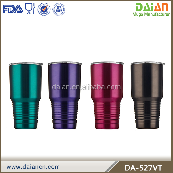 30oz OEM stainless steel copper lined tumbler