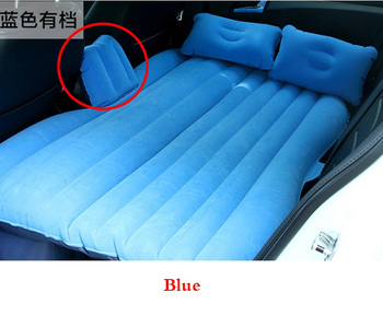 Image Is Loading Ergonomic Car Travel Inflatable Mattress Air Bed Cushion