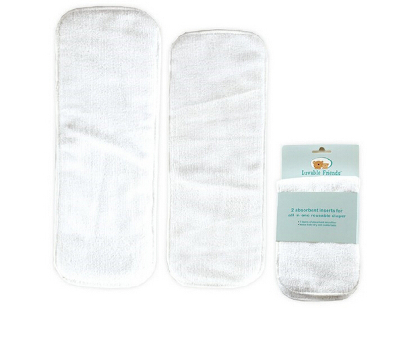 Modern Cloth Diaper Inserts Stay dry Superfine fiber diaper insert Washable Reusable Cloth nappies 12 Pieces