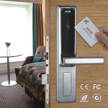 Stainless Steel Keyless Digital Hotel Room Door Locks With