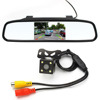 4.3 inch Car Rearview Mirror Monitor backup Camera with HD Wide Screen