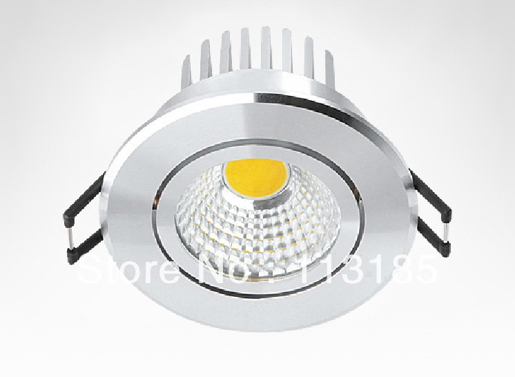 CE High Quality Hot Sale 5W COB LED Ceiling Lamp Taiwan Epistar LED Light Source 3 Years Warranty DHL Free Shipping