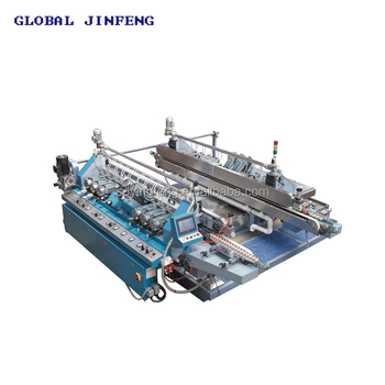 JFD-1008 8 motors glass double pencil round edge working machinery factory in China