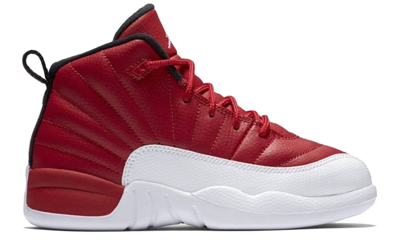 0dbf4a259331 Size 12.5 Children Nike Air Jordan 12 Retro BP Gym Red White 151186 600