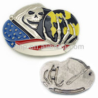 personality zinc alloy colorful enamel customized belt buckle