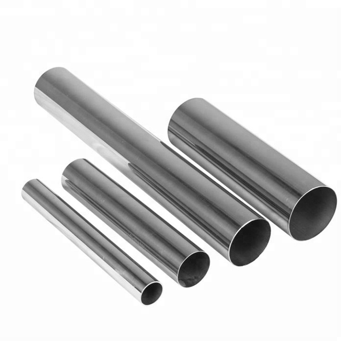 201 304 Stainless Steel SS 316 Round Welded Polished Seamless Pipe