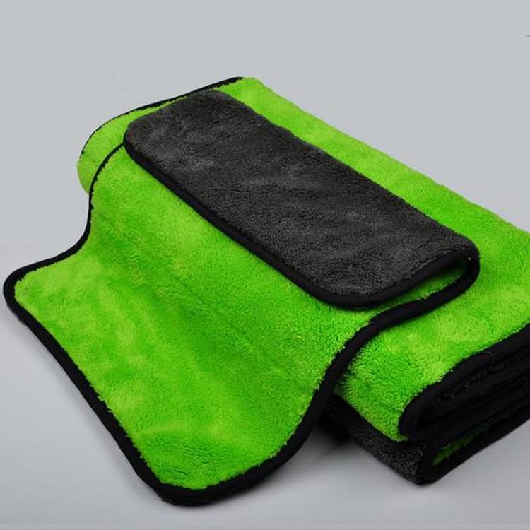 Mikrofiber havlu araba 800 gsm araba temizlik havlusu araç kurutma havlusu