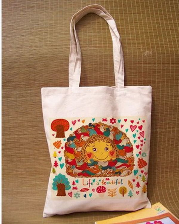 Customized hot selling roller shopping bags