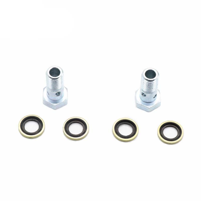 Ford 6.0L 6.4L Powerstroke Diesel Fuel Pump Pressure Banjo Bolt /& Washer Kit OEM