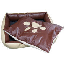 Popular products new fashion footprint pet bed sofa and nest orthopedic animal dog bed of popular