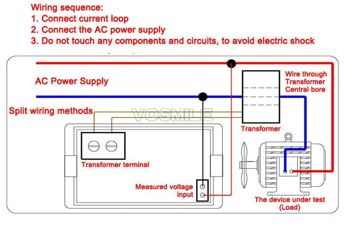 house ac wire diagram ac panel ammeter wire diagram #12