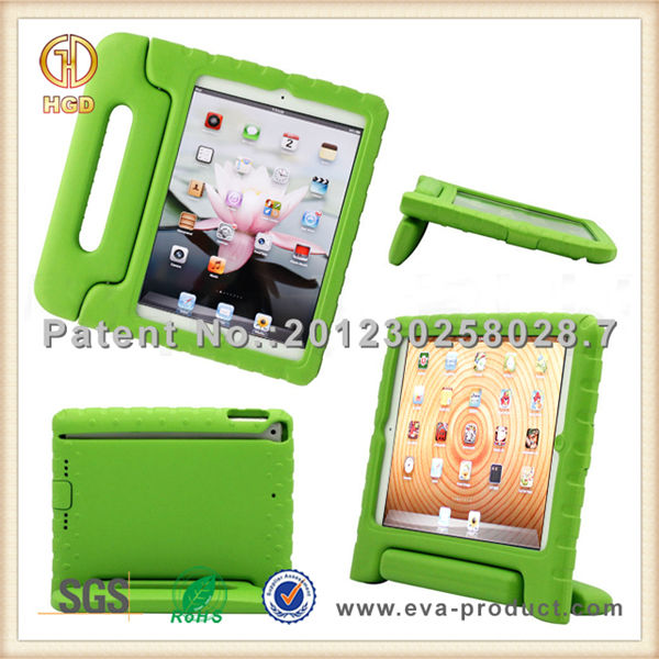 Wholesale factory price for ipad mini 2 rotate case with handle and stand