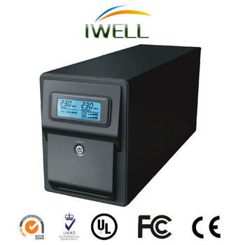 300W-1800W Line Interactive UPS 2KVA LCD UPS Home Power Manufacturer