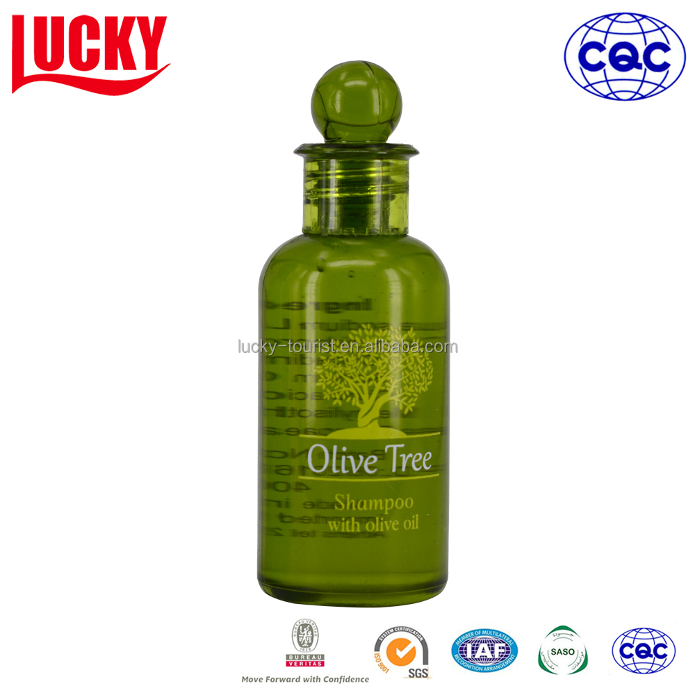Bottle Packing Natural Olive Oil Shampoo And Shower Gel For Hotel Amenities