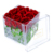 Hot Sale Crystal Clear Acrylic Roses Flower Packaging Box