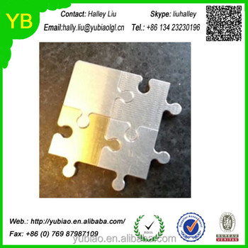 Custom Cnc Puzzle Pieces Aluminum And Brass Peices - Buy Cnc Puzzle  Pieces,Cnc Aluminum Peices,Cnc Puzzle Product on Alibaba com