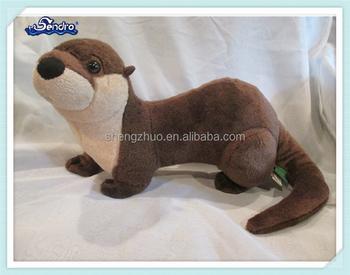 Plush Stuffed Animal Brown Sea Otter Toy Buy Sea Otter Toy Plush