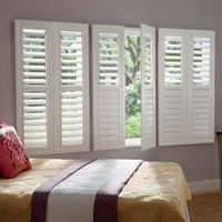 Beatiful and elegant adjustable plantation shutters from china security shutters