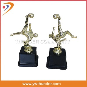 Bicycle Kick Small Trophy Cups, Soccer Trophy, Sports Meeting Trophy Cups