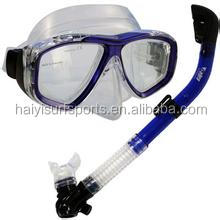 Swimming /Diving 4x4 Mask Snorkel Set Full FACE