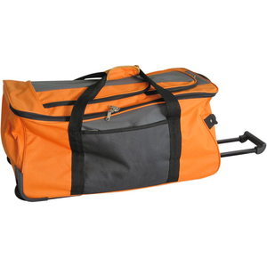 high quality huge capacity travel trolley bags on wheel