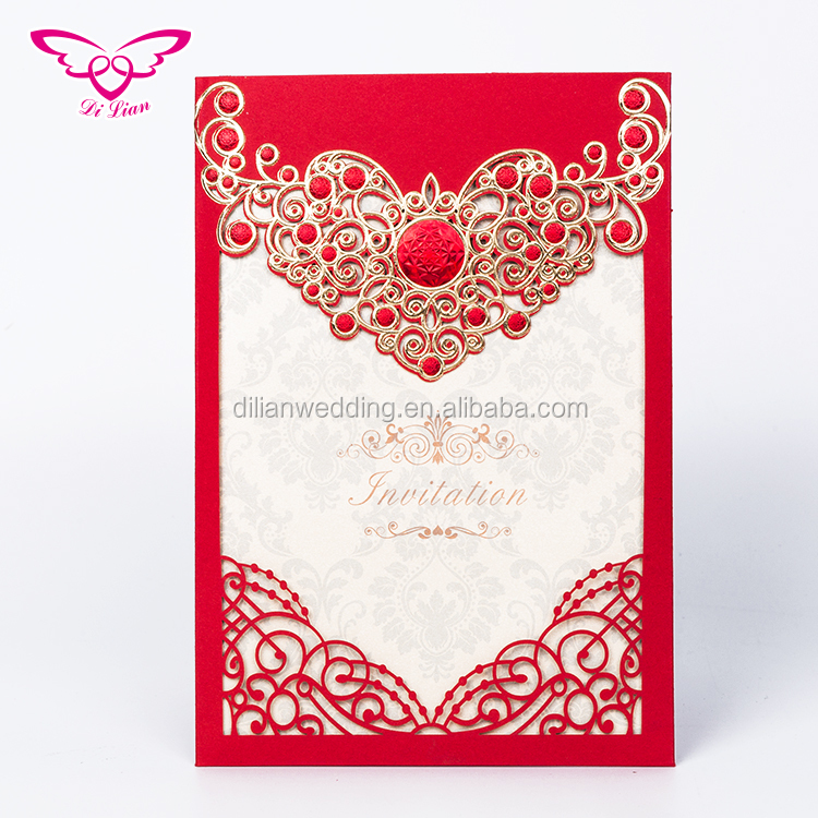 Dilian Wedding Classic Collection And Hot Sale Wedding Card Design