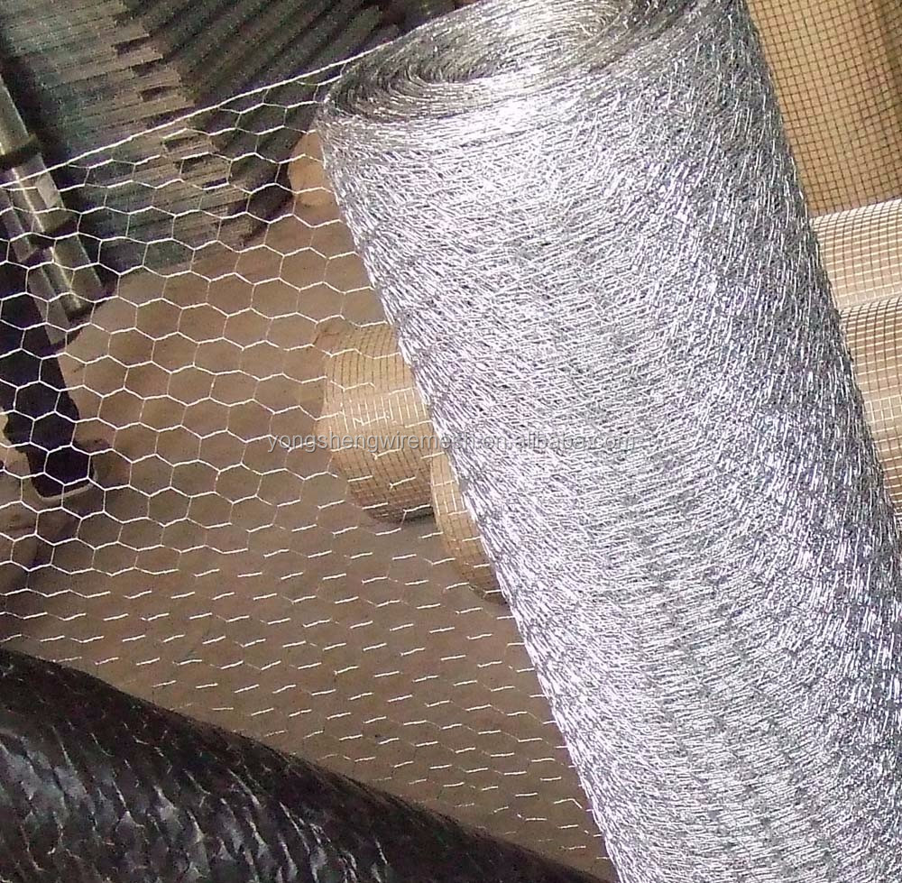 Fish Trap And Chicken Coop Fabric Galvanized Hexagonal Wire Mesh ...
