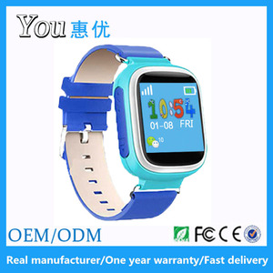 Q60 1.44 inch big display sos two way conversation multi languages smart gps watch kids tracker