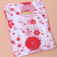 Most Popular plastic packaging bag printed gift and shopping bag