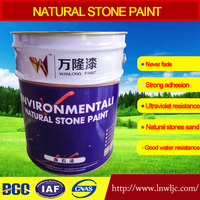 Acrylic rough texture spray paints for exterior wall