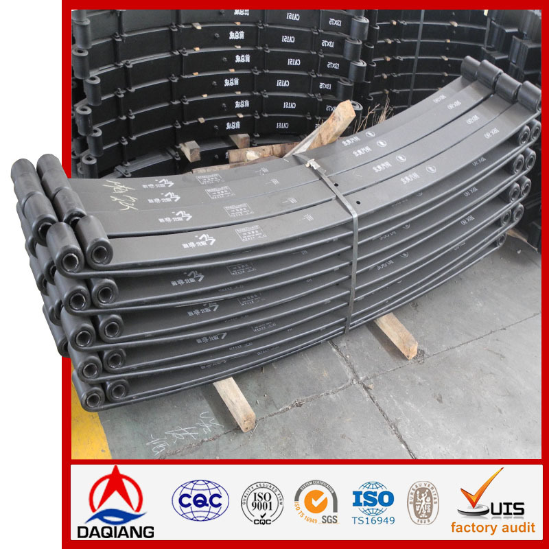 Suspension System single eye single leaf springs