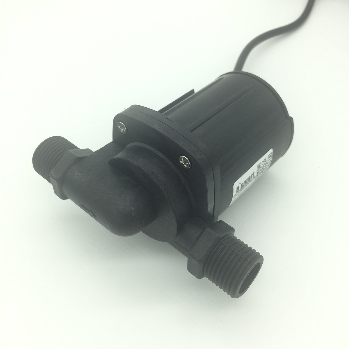 Bringsmart High Flow Rate 2000L/H 5M Mini Booster Pump 12V DC Brushless Submersible Fountain Water Pump (JT-1000C 12V)