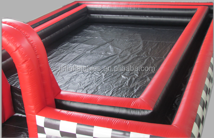 2019 go kart track inflatable air track for outdoor sports