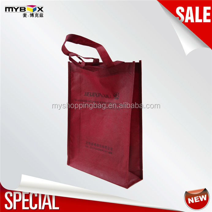 New designed reusable sample printed luxury brand bags hot selling products folding shopping bag China suppliers pp non woven ba