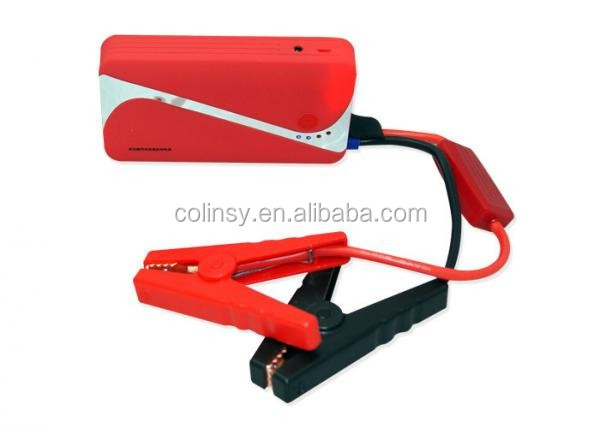 Portable Starter Assembly Emergency Tool Kit Starter Parts Jump Starter Battery LED Booster Cable Silicone Wire Cooper