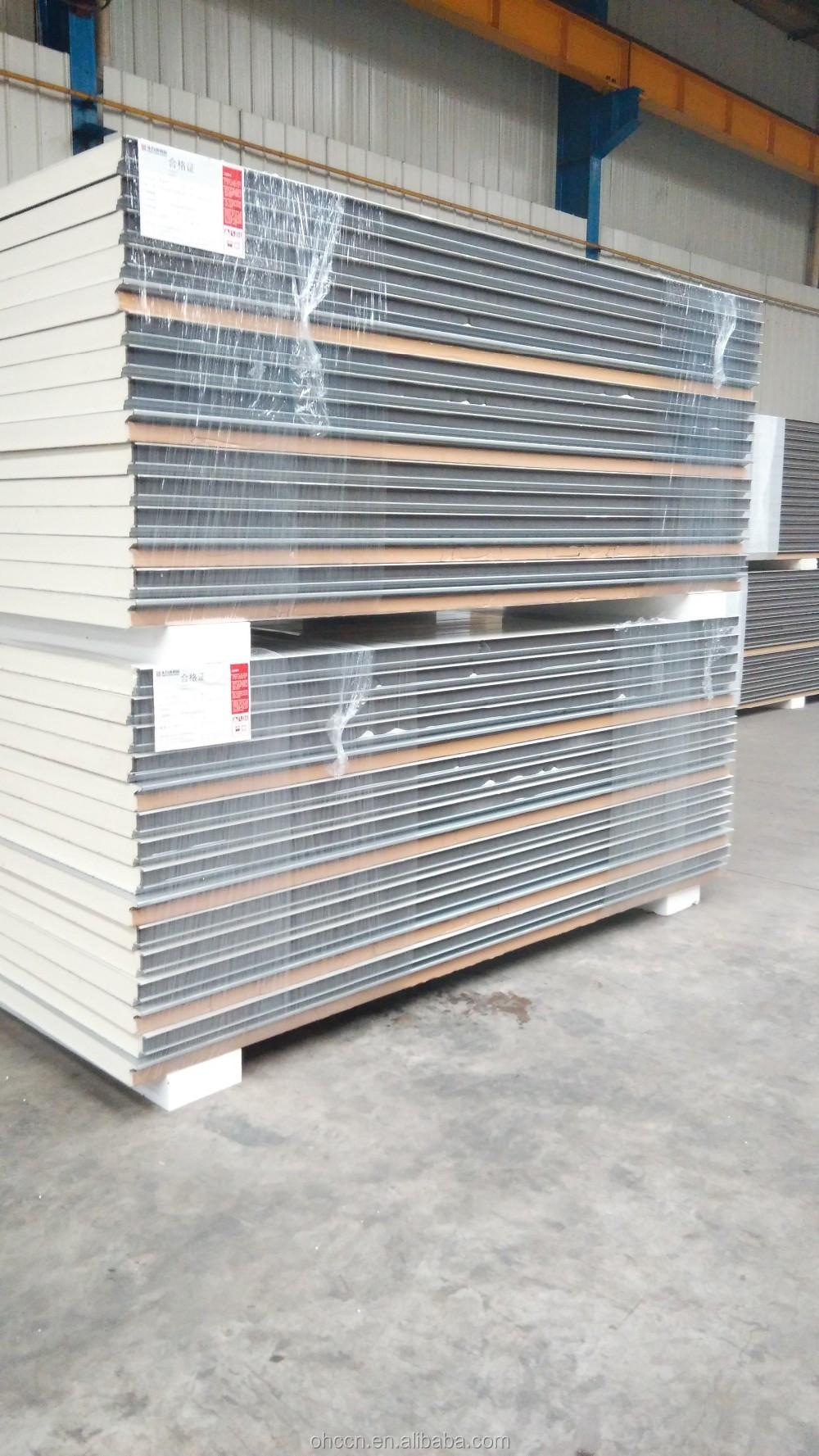 Pir Sandwich Panels Type And Metal Panel Material